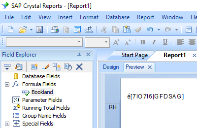 bookland barcode crystal reports formula field