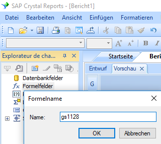 gs1128 barcode create formula crystal reports