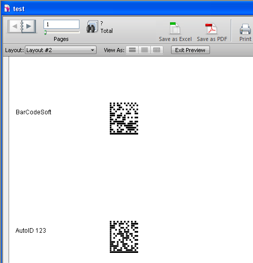 filemaker 2D barcode