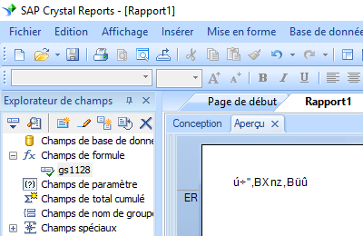 gs1128 code barres crystal reports UFL