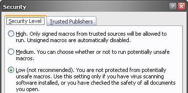 PDF417 Macro Security