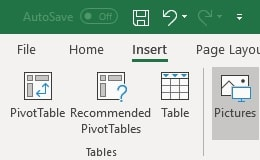 office 365 excel toolbar